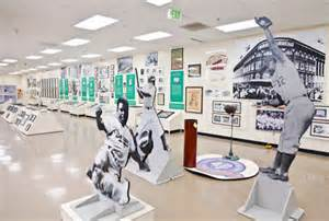 The Interior of the Sports Museum of Los Angeles