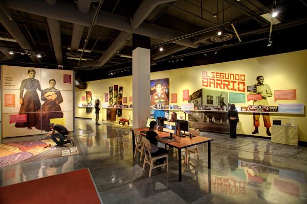 Each of the museum's exhibits emphasize the unique nature of El Paso as a Borderlands community.