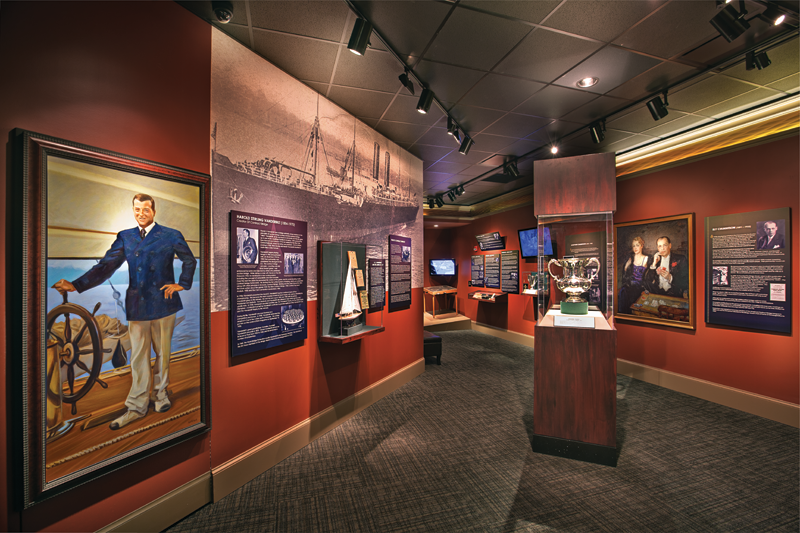 In addition to exhibits dedicated to diverse neighborhoods and culture, part of the museum shares the history of instrumental families, busines leaders, and sports stars.