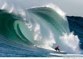 Mavericks wave