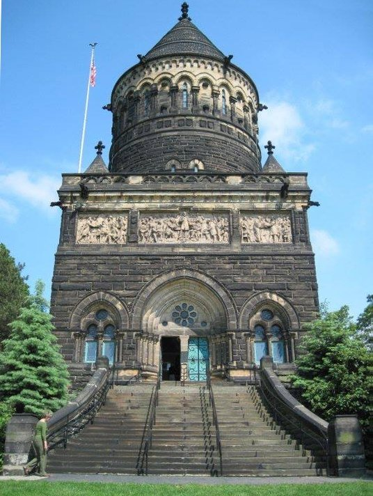 The James A. Garfield Memorial, build in honor of the 20th President, is listed on the National Register of Historic Places.