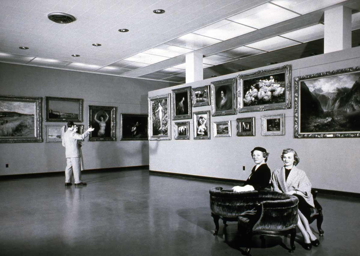 Frye Art Museum in 1954