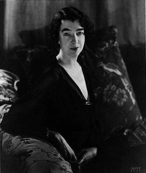 Gertrude Vanderbelt Whitney. Photo taken November 17, 1931.