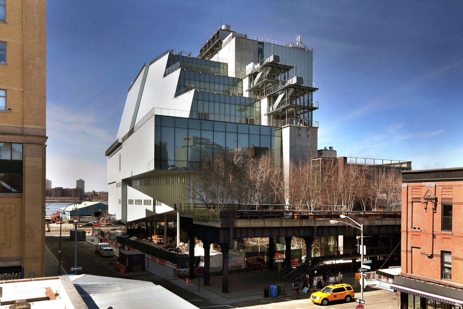 The Whitney Museum of American Art building opened May 1, 2015