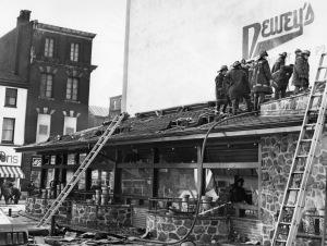 Dewey's Fire, 1969, courtesy of The Gayborhood Guru (reproduced under Fair Use)