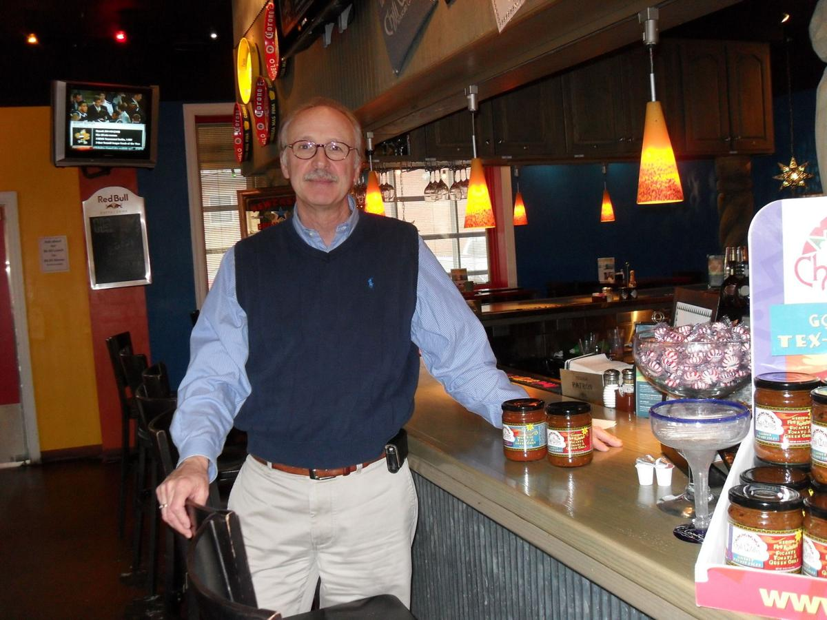 Ron Smith inside Chili Willi's third location