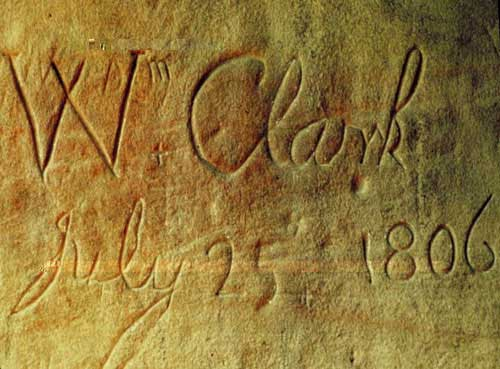 Picture of Clark's signature