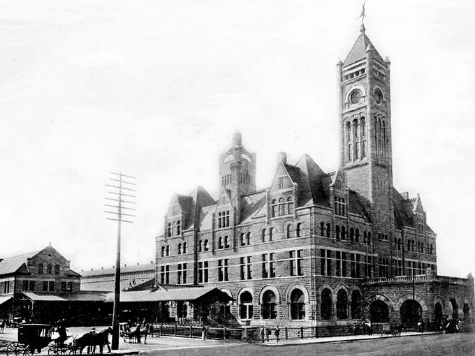 Union Station just after completion in 1900