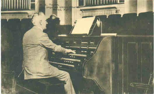 M.E. Taylor, Organist