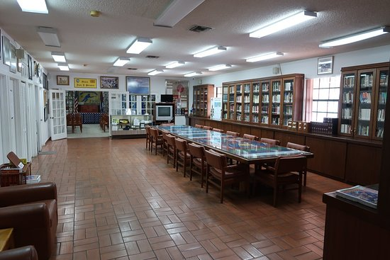The Museum's library.