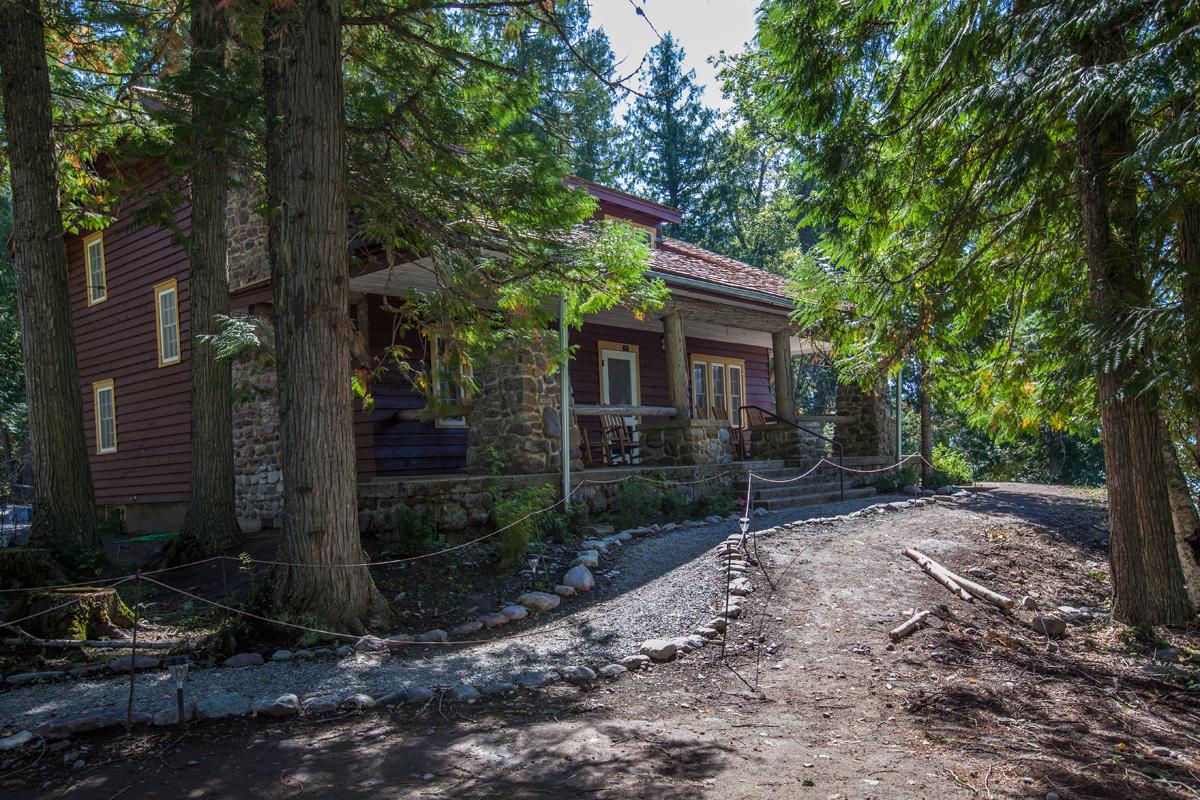 The Cobb House. Credit: Glacier National Park