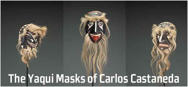 The Yaqui Masks of Carlos Castaneda