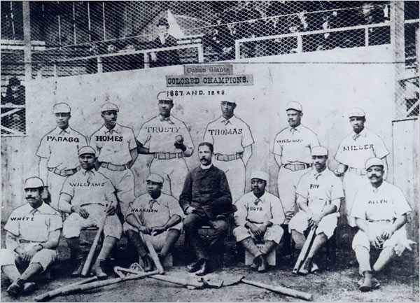 Cuban Giants team photo
