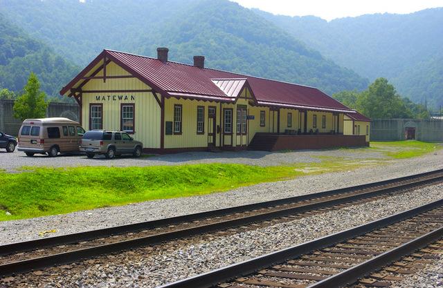 Matewan Rail Station.