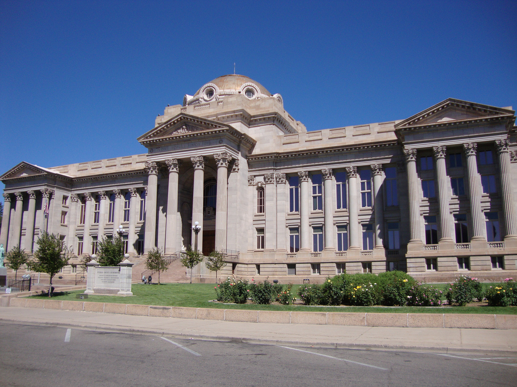The Pueblo County Courthouse