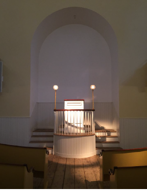 Pulpit, Courtesy of the Advisory Council on Historic Preservation
