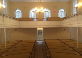 Interior, Courtesy of the Advisory Council on Historic Preservation