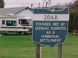 Zoar Sign