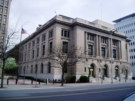 The Federal Building and U.S. Post Office was built in 1909 and is still used for its original purposes today.