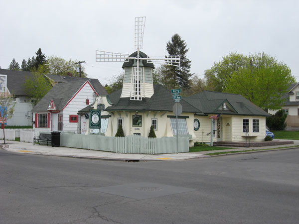 Exterior view of the windmill