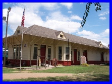 The Abilene & Smoky Valley Railroad was established in 1993.