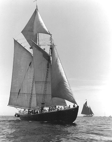 Schooner Adventure, the icon of America's fishing industry.