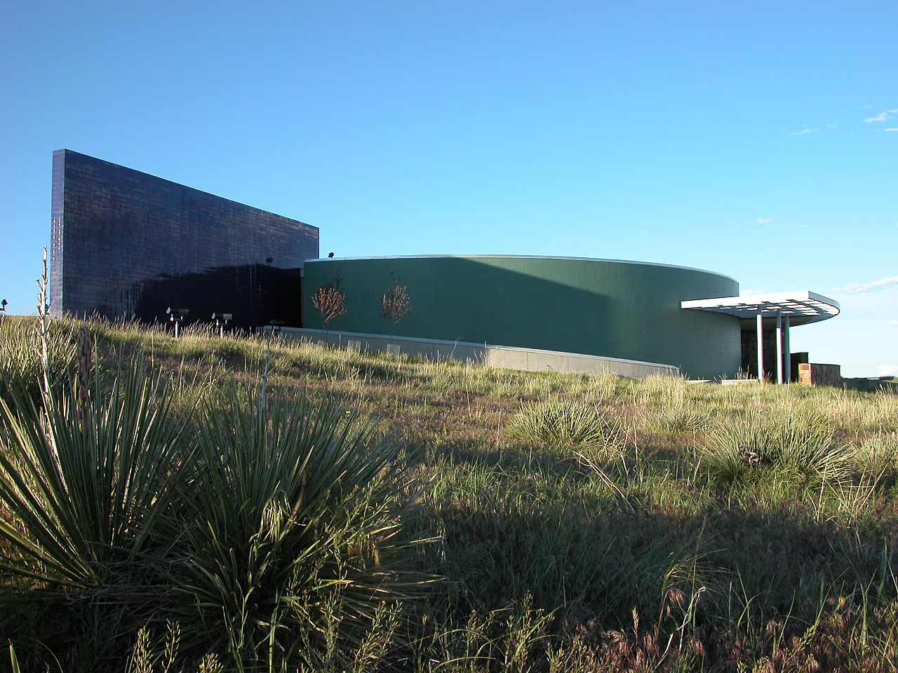 The National Historic Trails Interpretive Center opened in 2002.