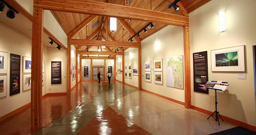 The museum's exhibits feature artifacts and specimens that highlight Oregon's natural and cultural history.