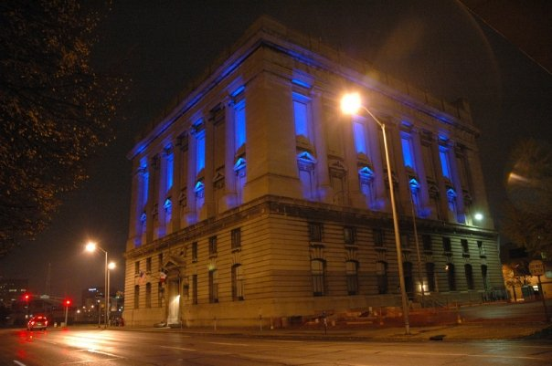 Exterior of The Freemasons' Hall – Night