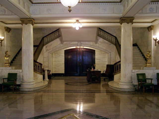Foyer of The Freemasons' Hall