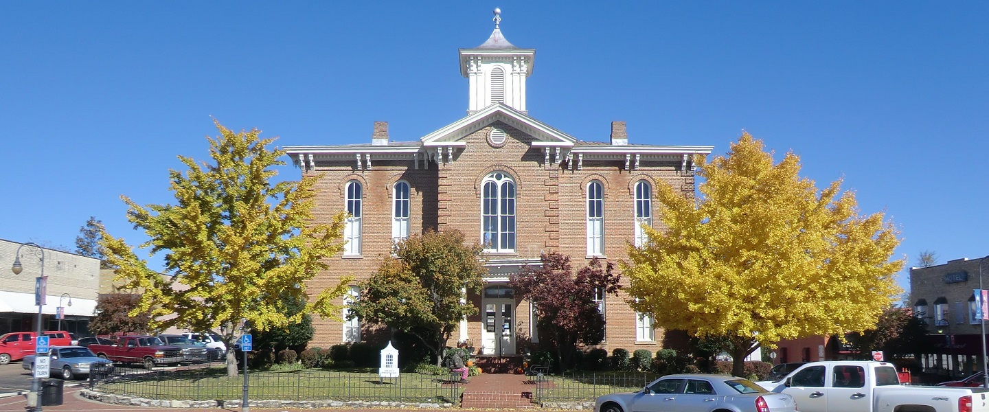 Randolph County Courthouse was built in 1872.