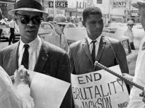 Medgar working for Civil Rights in Jackson.