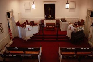 Grafton Christian Church Cemetery Sanctuary