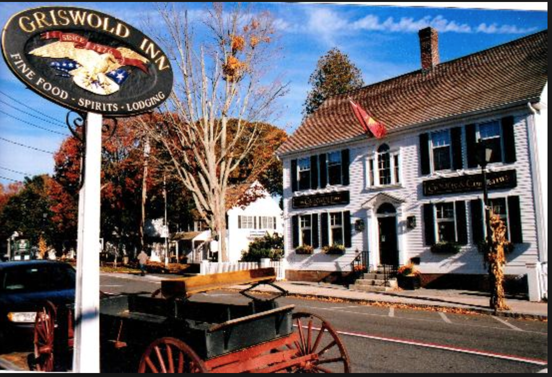 The Griswold Inn was established in 1776, making it one of the oldest taverns in the country.