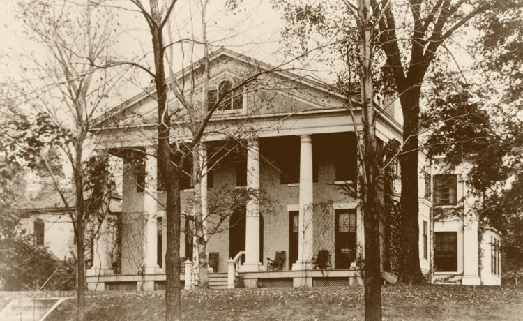 The Ansley Wilcox House in 1901, the Year Theodore Roosevelt Became President