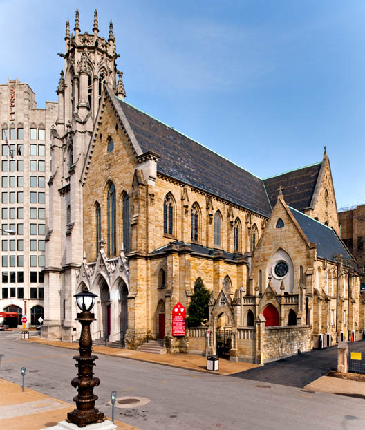 Exterior of Christ Church Cathedral - St. Louis
