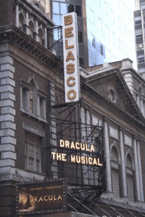 The Belasco Theatre opened in 1907.