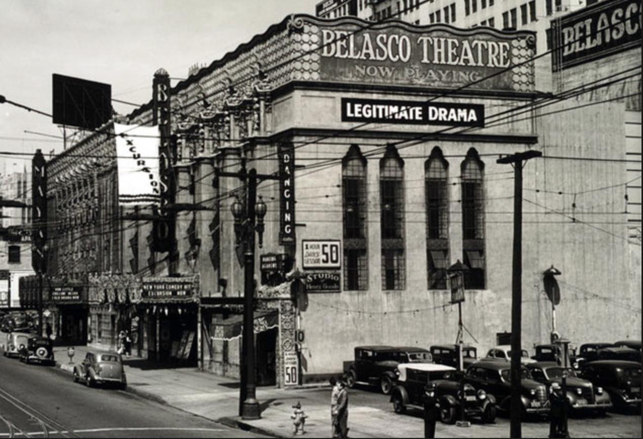 The Historic Belasco Theatre