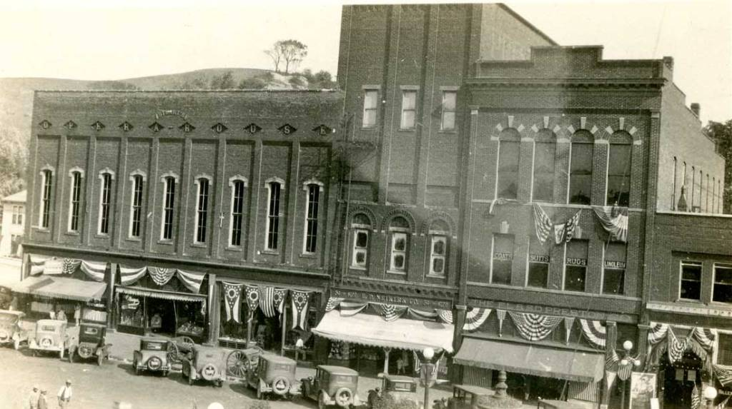 Stuart's Opera House as it looked in the early 1900s