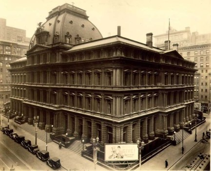 An old photo of the Old Post Office
