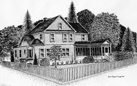 This is a drawing of the home.