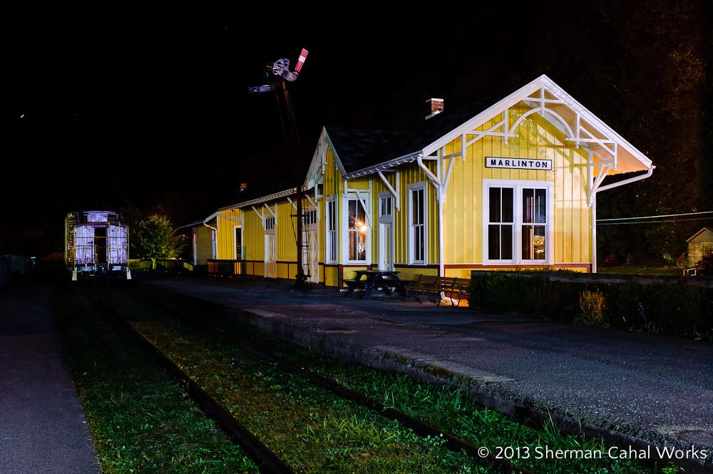 The C&O Railroad Station