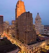 The hotel opened in 1931 and remains one of the most iconic downtown buildings in Cincinnati.