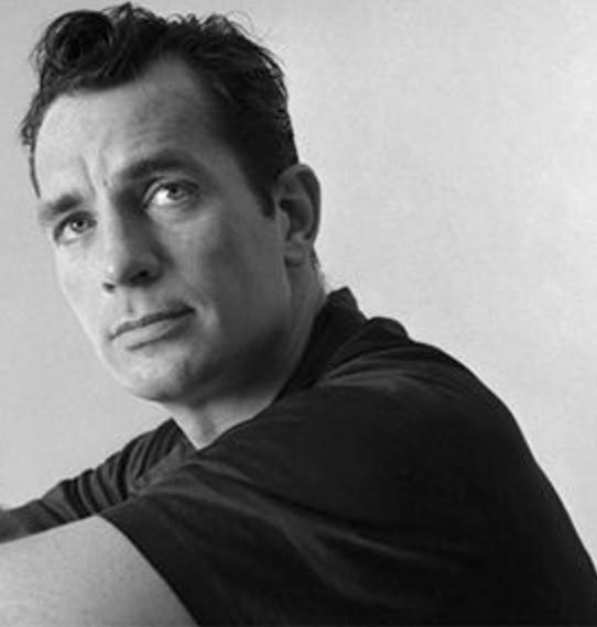 The acclaimed author: Jack Kerouac