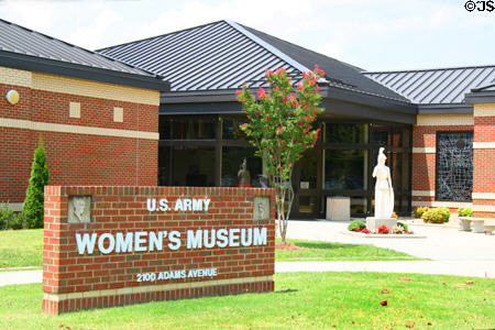 The current facility was completed in 2001 but the museum has been around for over half a century. The museum opened in 1955 as the WAC (Women's Army Corps) Museum in Alabama.