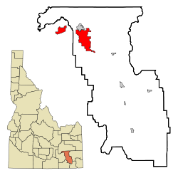 "Pocatello is the county seat of Bannock County and is nicknamed the ""U.S. Smile Capital"""