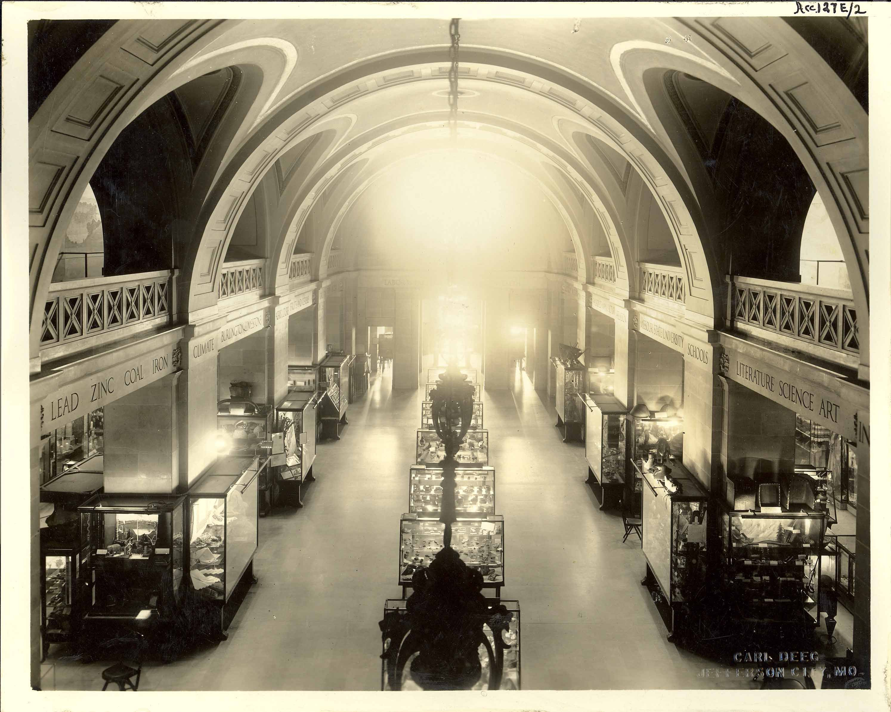 Missouri State Museum's Resources Hall c. 1931