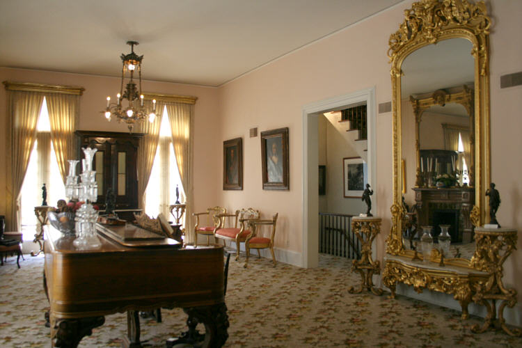 The Drawing Room. Credit: Cole County Historical Society