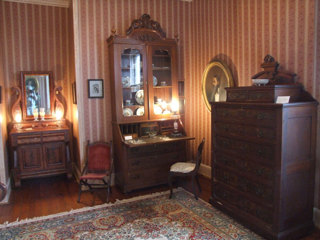 Bedroom of Benjamin Gratz Brown. Credit: Cole County Historical Society
