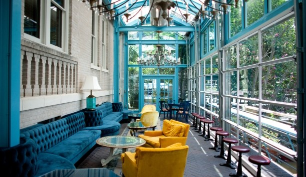 Liz Lambert's unique touches are evident in the boutique hotel